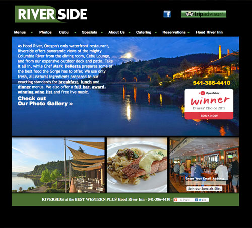 Riverside Website